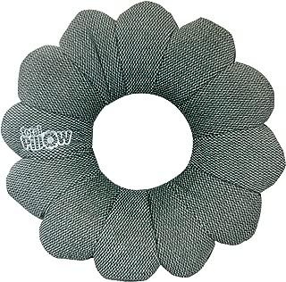 Total Pillow-Travel-Neck/Head/Lumbar Support-Twist/Contour Any Position-Fleece