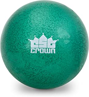 3.63kg (8lbs) Shot Put, Cast Iron Weight Shot Ball – Great for Outdoor Track & Field Competitions, Practice, & Training by Crown Sporting Goods