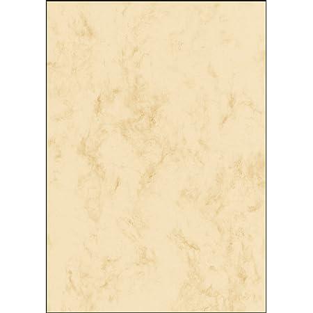 SIGEL DP907 Papier à lettres, 14,8 x 21 cm, 90g/m², marbre beige clair, 100 feuilles