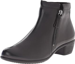 ايكو حذاء تاتش 35 بسحاب للكاحل للنساء