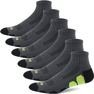 Men's Performance Athletic Ankle Running Socks (6 Pack)