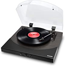 ION Audio Premier LP | Wireless Bluetooth Turntable / Vinyl Record Player with Speakers, USB Conversion, RCA and Headphone...