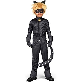 viving costumes Disfraz de Cat Noir niño Talla 4a5 años: Amazon.es ...