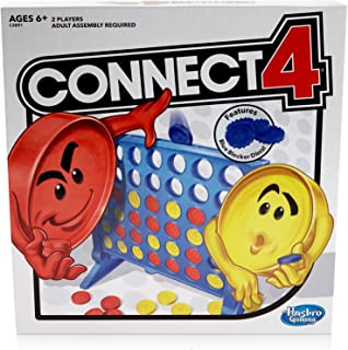 Connect 4 Strategy Board Game for Ages 6 and Up (Amazon...