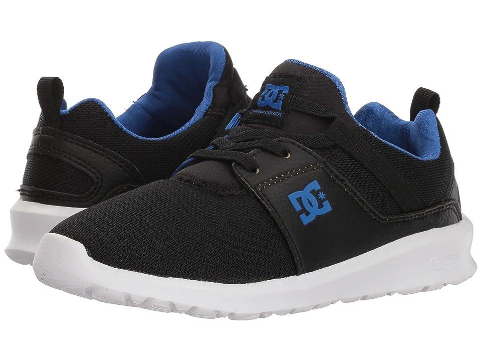 DC Kids Heathrow (Little Kid/Big Kid) (Black/Royal) Boys Shoes