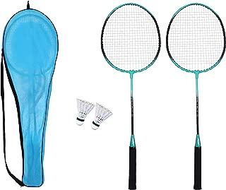 Fox Nano-Speed Fox-50 Badminton Racket Combo Pack with 2 Pieces Nylon Shuttlecock
