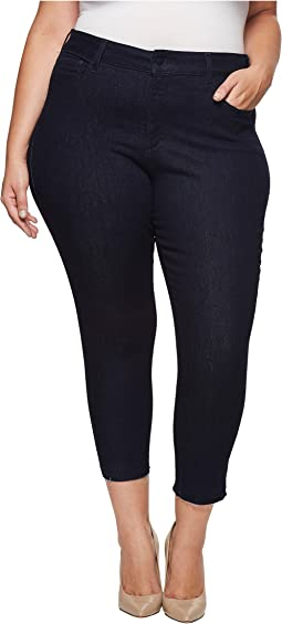 Plus Size Ami Skinny Ankle w/ Released Hem in Rinse