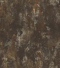 Behang roest patina glans Rasch Pure Vintage zwart goud 418224