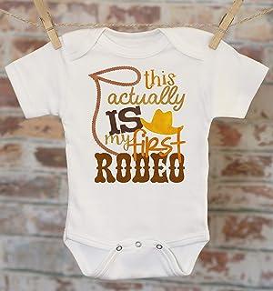 My First Rodeo Onesie, Country Boy Onesie, Funny Baby Onesie, Cute Boy Outfit, Country Baby Clothes, Cowboy Onesie, Boho Baby Onesie