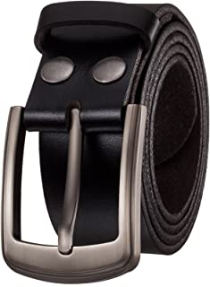 Men's Belt by Italy First Layer of Cow Leather-1.5