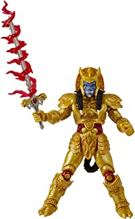Power Rangers E8664 Lightning Collection Mighty Morphin Goldar 6-Inch Premium Collectible Action Figure Toy with Accessories