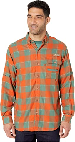 Backcountry Orange Chunky Plaid