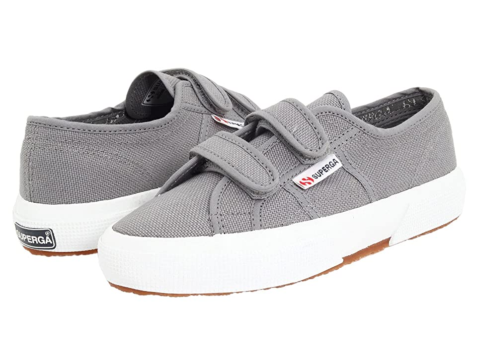 Superga Kids 2750 JVEL Classic (Toddler/Little Kid) (Grey Sage) Kids Shoes