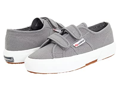 Superga Kids 2750 JVEL Classic (Toddler/Little Kid) (Grey Sage) Kids Shoes