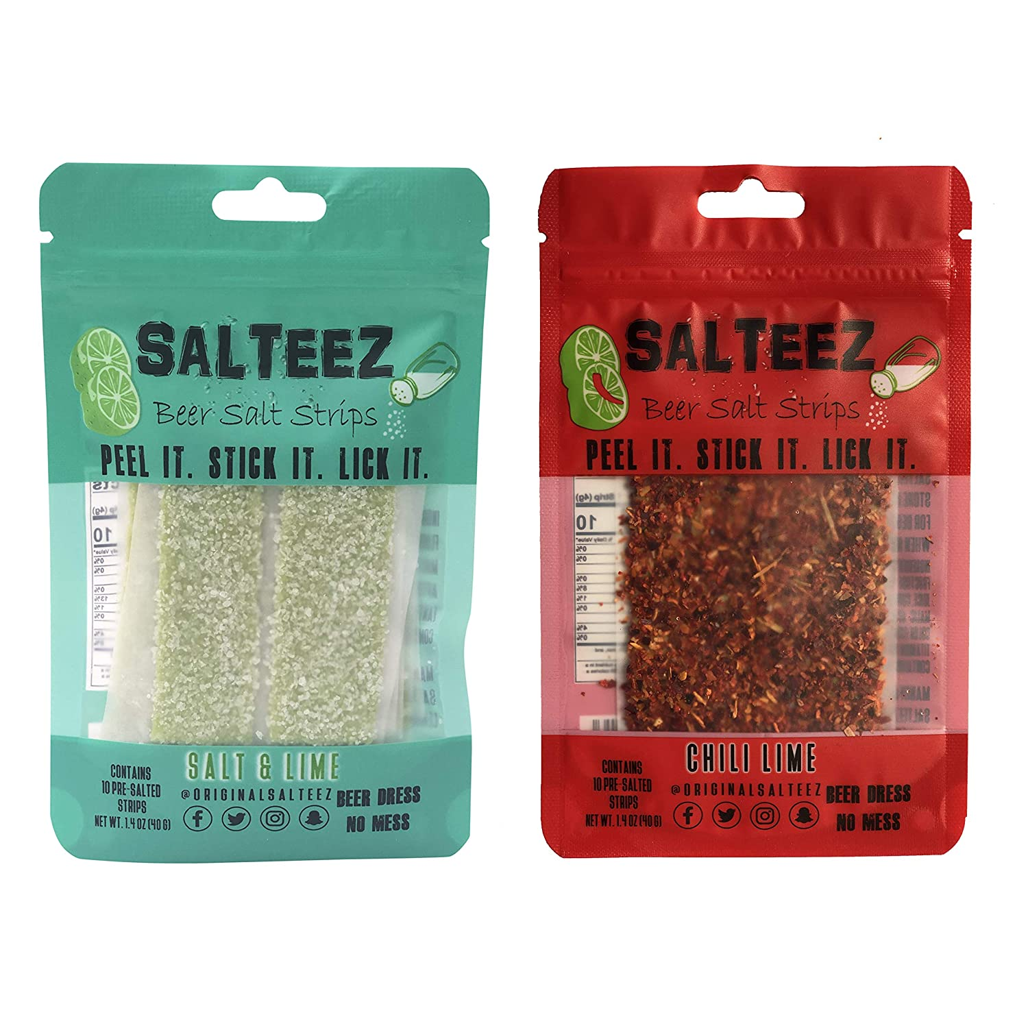 Salteez Beer Salt Recommended Arlington Mall Strips: Real Flavor St Lime Strips That