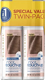 Clairol Root Touch-Up Spray, Medium Brown, 2 Count