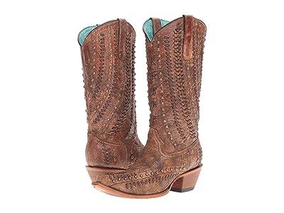 Corral Boots C3004 (Cognac/Brown) Women