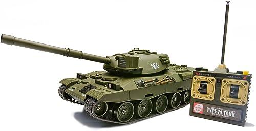compra en línea hoy Jgsdf Type 74 Tank Rc Battle Tank Tank Tank [Toy] (japan import)  edición limitada en caliente