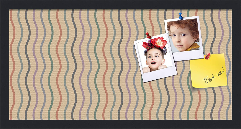 PinPix ArtToFrames 10x22 Custom Cork Fashionable Multi Limited price sale Bulletin Color Board