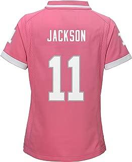 Desean Jackson Washington Redskins #11 Bubble Gum Pink Youth Girls Jersey