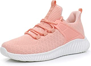 Womens Lightweight Running Shoes - Breathable Gym Shoes Slip-on Sneakers for Walking, Tennis, Casual Workout, Driving, Work