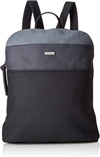 Tamaris Khemaバックパック、婦人用バックパックハンドバッグ、青(ネイビー)、8.5 x 31 x 27 cm(W x HL)