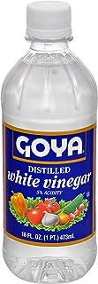 Goya Foods Distilled White Vinegar, 16 Fl Oz (Pack of 24)