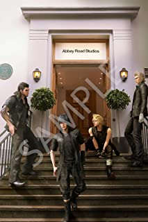 Best Print Store - Final Fantasy XV, Abbey Road Studio, The Brotherhood Poster (11x17 inches)