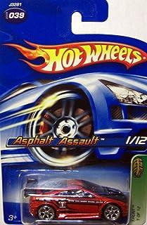 Hot Wheels 2006 Treasure Hunt 1:64 Scale Red Asphalt Assault 1/12 Die Cast Car #039