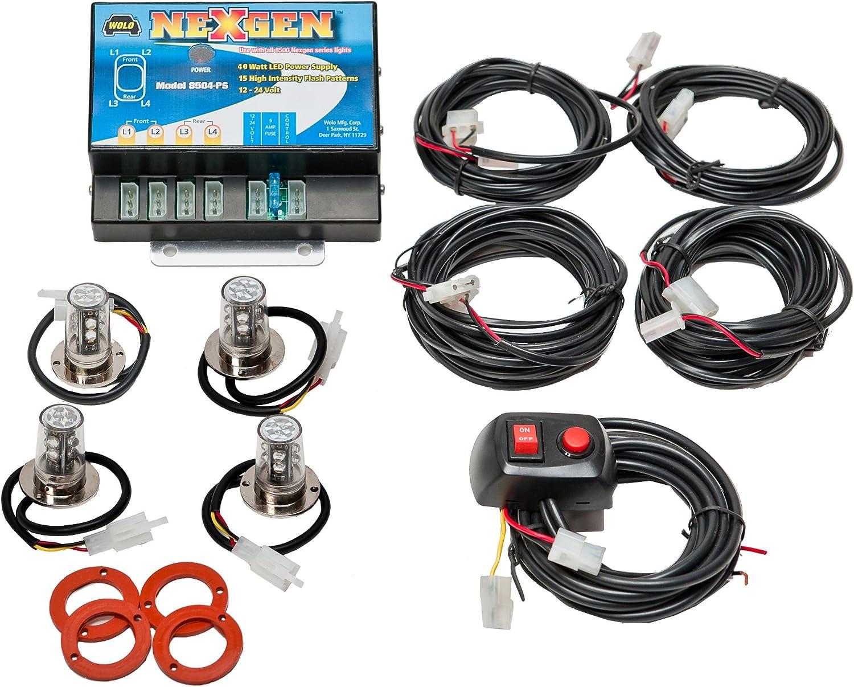 Max 50% OFF Wolo 8504-15CCRR 100% quality warranty! NexGen 40 Watt Power Supply Emergen LED 3 Gen