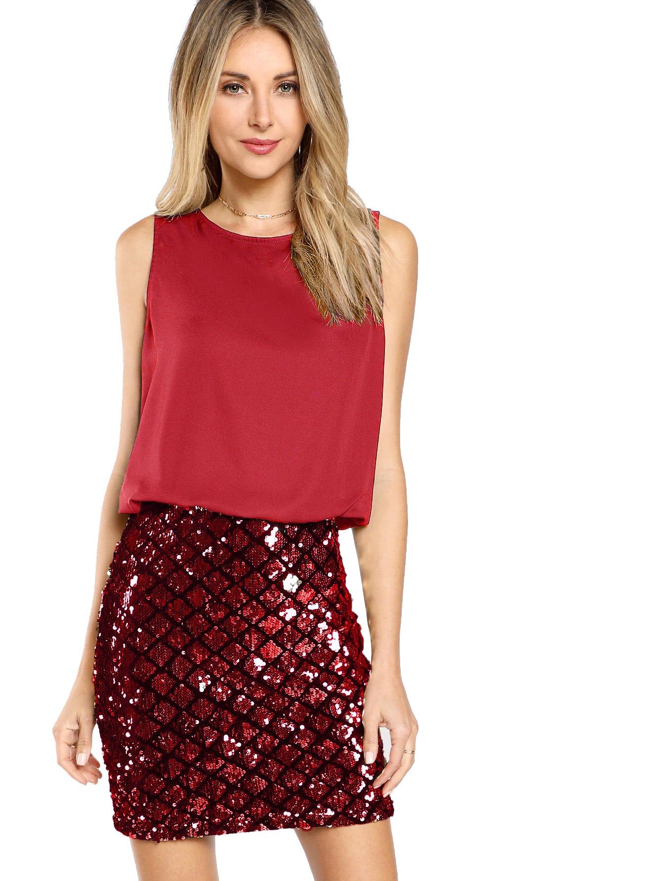 Red Dress - Fishtail Dresses For Women Midi Bodycon Dress Long Sleeve V Neck Cocktail Dress