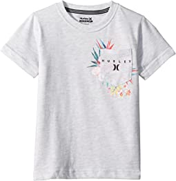 Hurley Kids Overgrown Pocket Tee (Little Kids)