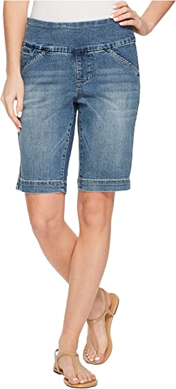 Ainsley Pull-On Bermuda Classic Fit Butter Denim Short in Horizon Blue