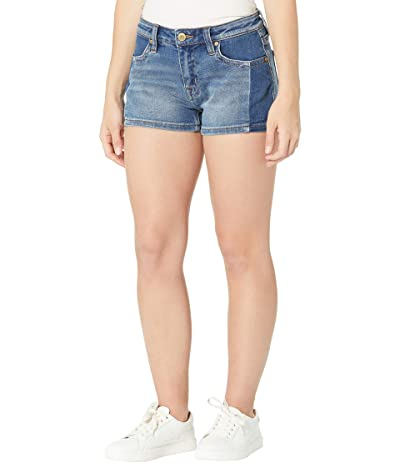 Rock and Roll Cowgirl Mid-Rise Denim Shorts in Medium Vintage 68M8200 (Medium Vintage) Women