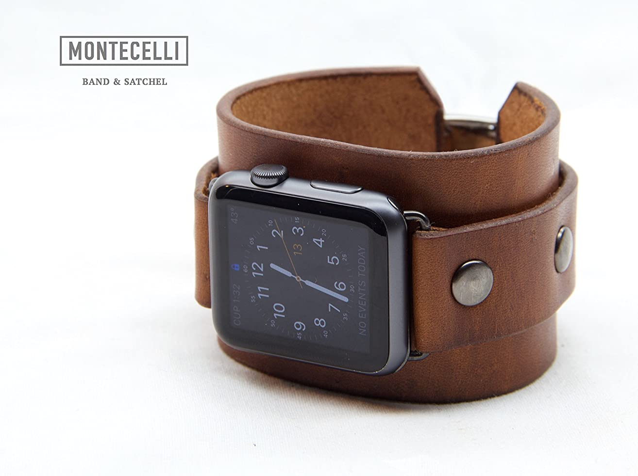 Venture Light Brown (Tailored Fit) Cuff Band for Apple Watch