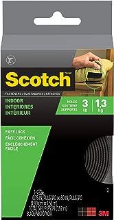 Scotch RF4741 Indoor Fasteners, 3/4-Inch x 5-Feet, Black