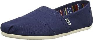 TOMS Mens Alpargata Canvas Ankle-High Flat Shoe