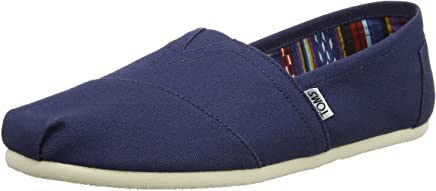 TOMS Mens Alpargata Canvas Ankle-High Flat Shoe