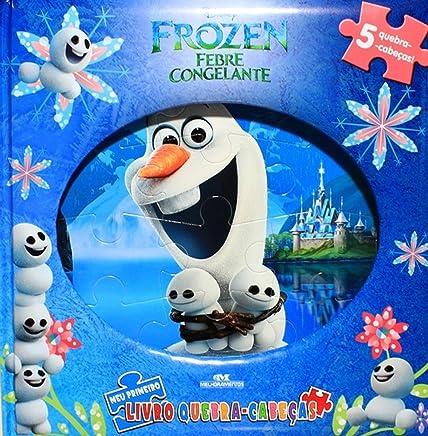 Frozen Febre Congelante: Meu Primeiro Livro Quebra-cabeças