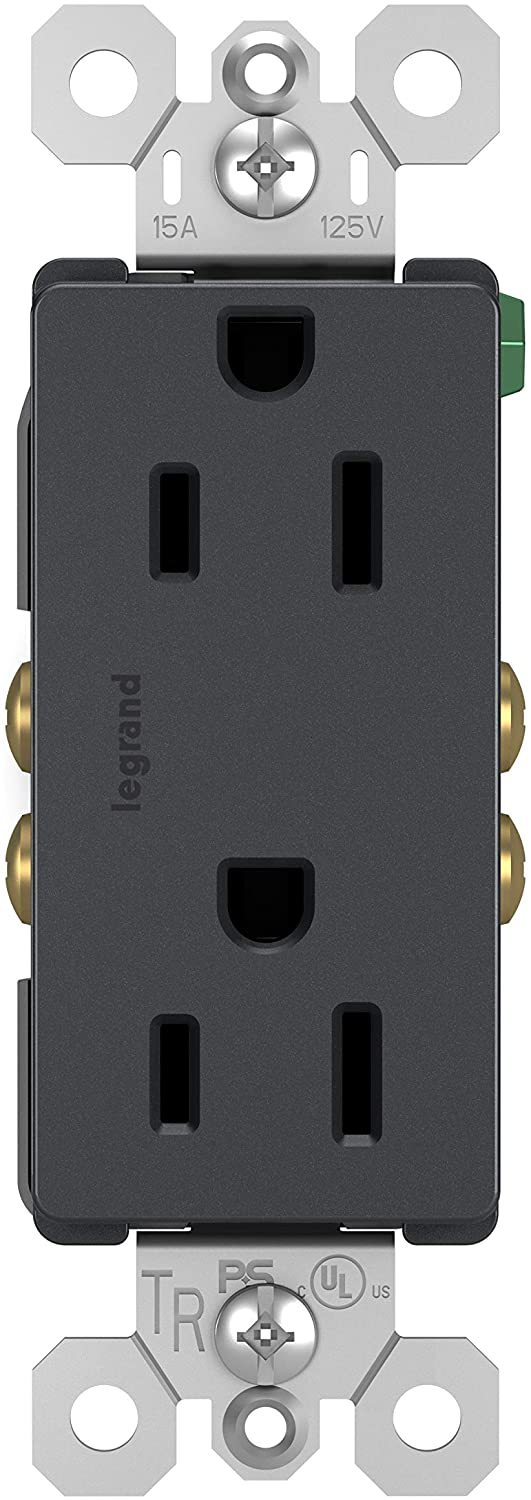 Legrand-Pass Seymour 885TRGCC12 Tamper-Resistant Cheap mail order sales price Duplex Outlet