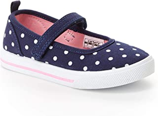 Simple Joys by Carter's Girls' Indie Mary Jane Flat, Navy