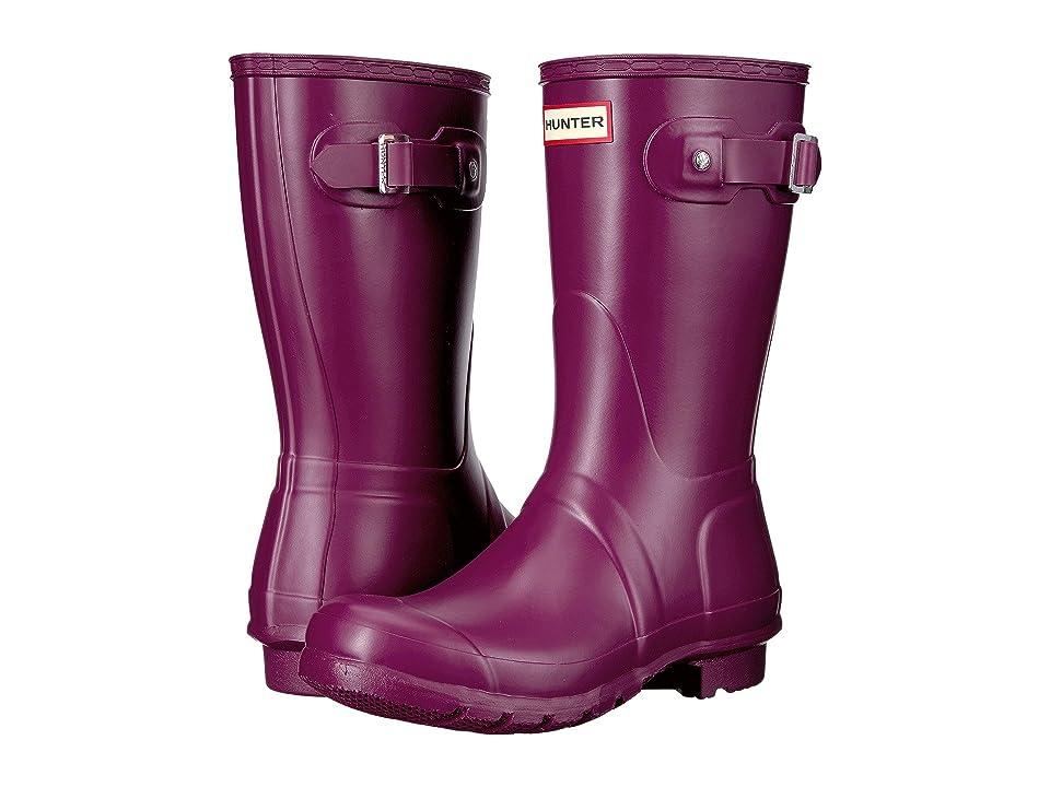 Hunter Original Short Rain Boots (Violet) Women