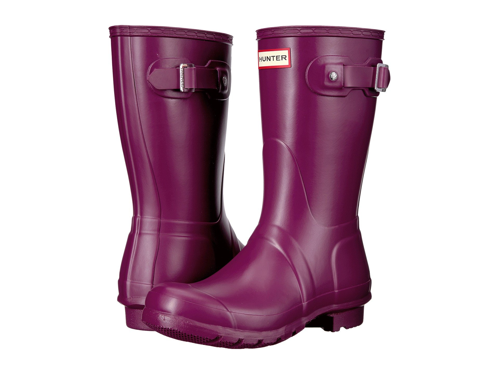 Short Violet Boots Hunter Original Rain 5IxwRU