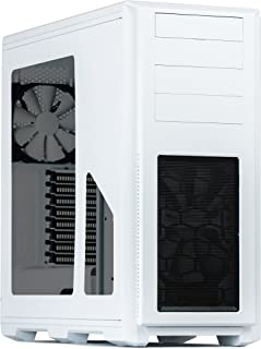 Phanteks Enthoo Pro Full-Tower Blanco - Caja de Ordenador (Full-Tower, PC, De plástico, Acero, Blanco, ATX,EATX,Mini-ATX, ...