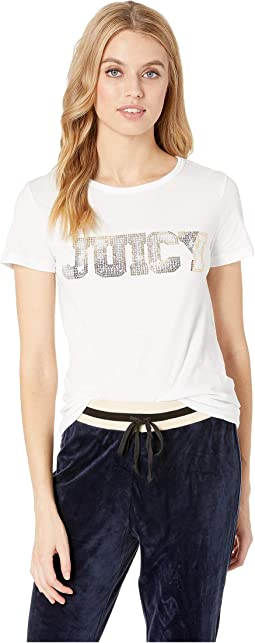 Juicy Sequins Logo Tee