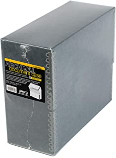 Lineco Blue/Gray Archival Document Storage Case, 5