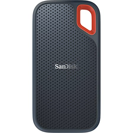 SanDisk Extreme Portable SSD 2 TB Up to 550 MB//s Read /& Basics External Hard Drive Case