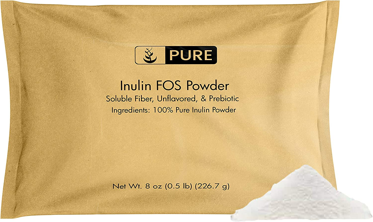 100% Pure Inulin Fashionable FOS Powder 8 Ranking TOP19 Unflavored 2600 Serving oz mg