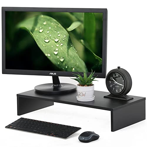 FITUEYES Computer Monitor Riser 21.3 inch Monitor Stand with Keyboard Storage Space DT105401WB
