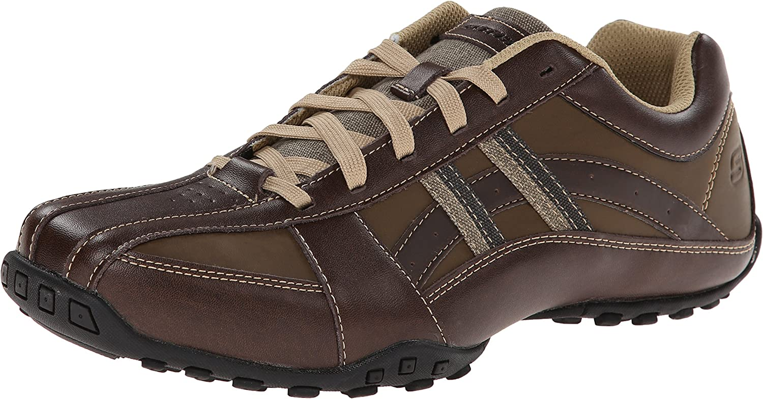 Skechers USA Men's Citywalk Malton Oxford Turnschuhe,braun,10 M US